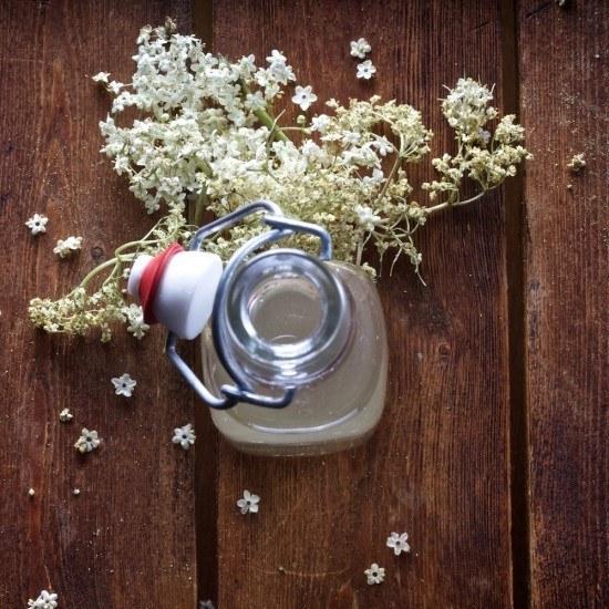 Rezept Holunderblütensirup