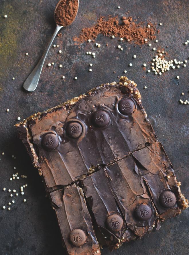 Rezept Homemade Erdnuss Riegel