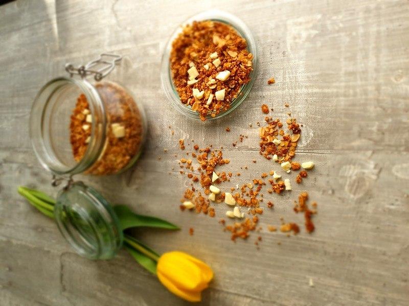 Rezept Honig Granola
