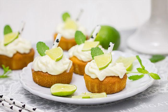 Rezept Hugo-Cupcakes