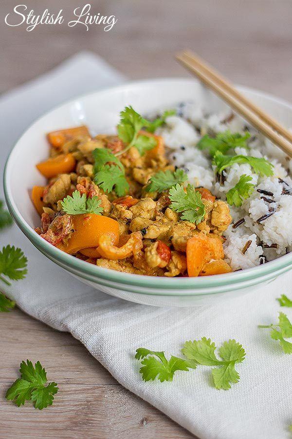 Rezept Hühnchenhackfleisch-Curry nach Madhur Jaffrey