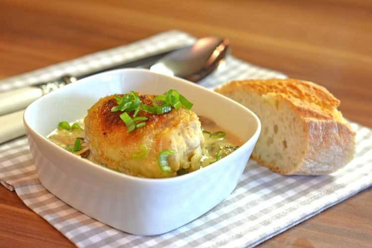Rezept Hühner-Pilz-Pfanne