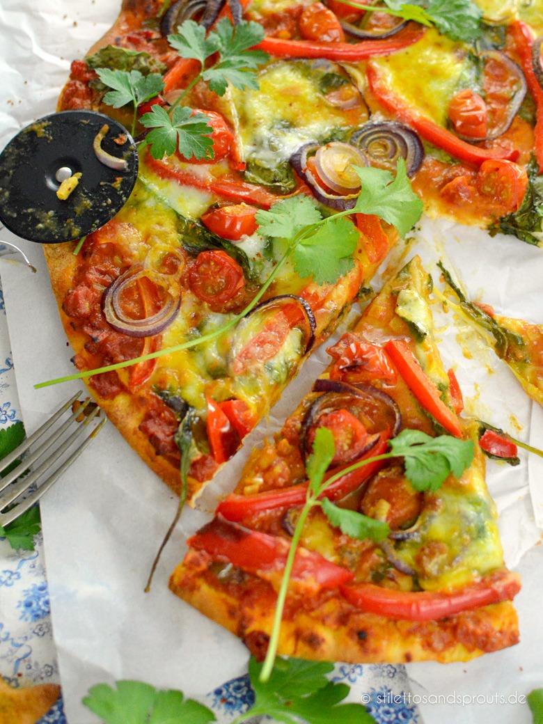 Rezept Indische Pizza Tikka Masala