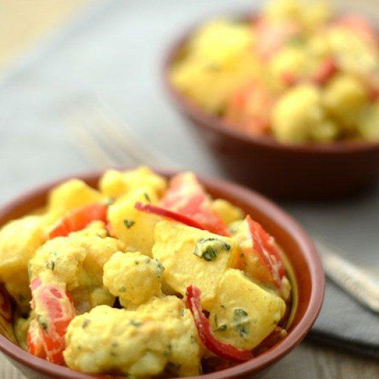 Rezept Indischer Kartoffelsalat