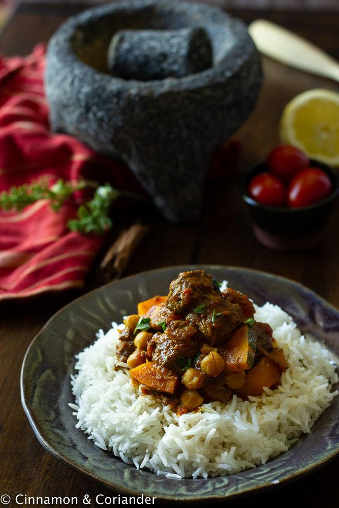 Rezept Indisches Curry Vindaloo mit Reh