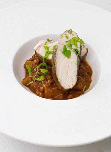 Rezept Indisches Dal mit Hühnerbrust Sous Vide