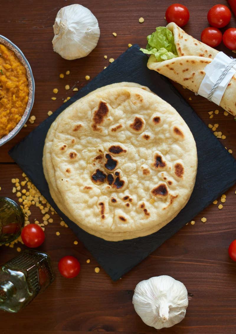 Rezept Indisches Naan aus der Pfanne