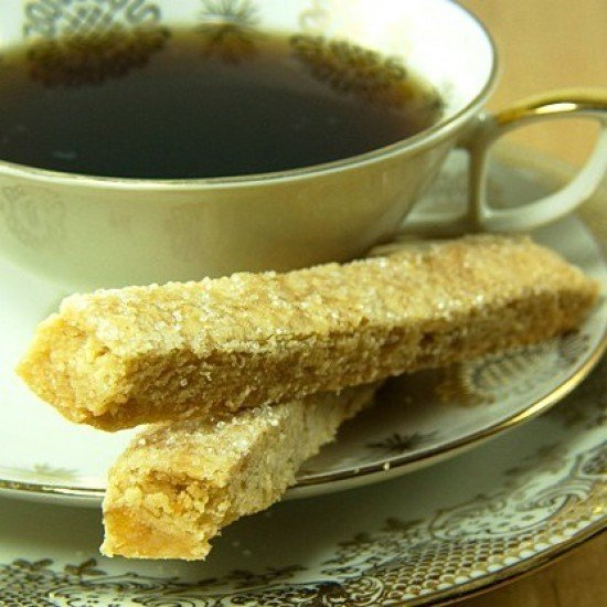 Rezept Ingwer Shortbread