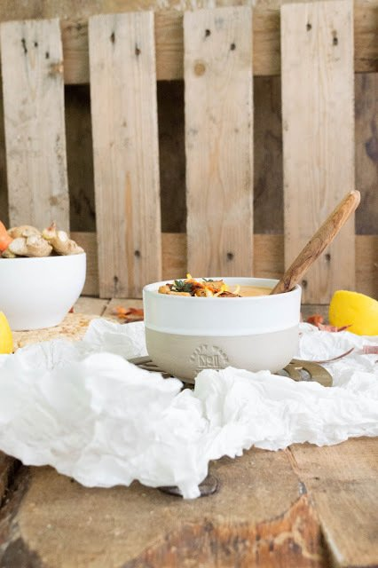 Rezept Ingwer Zitronen Suppe