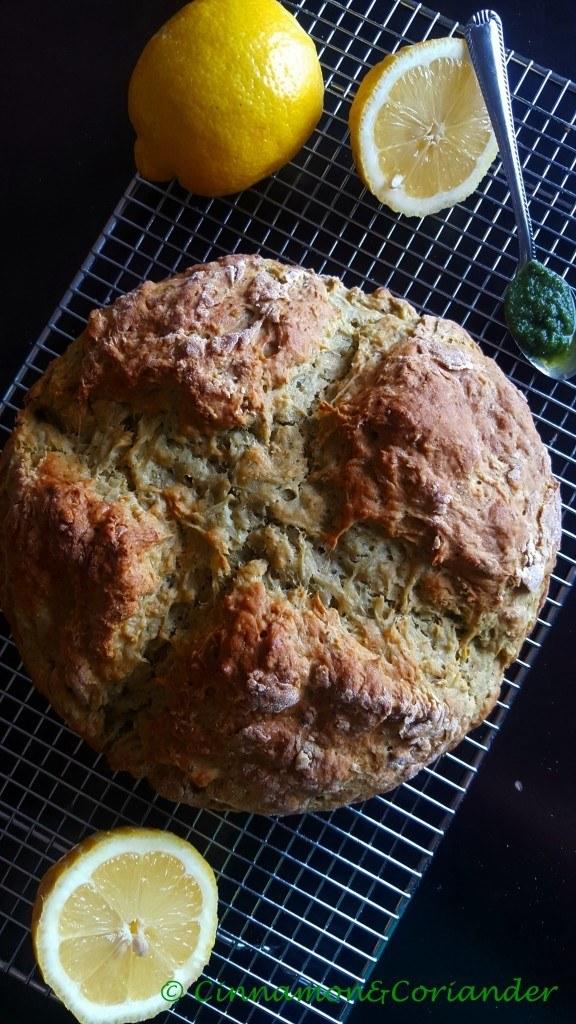 Rezept Irisches Kartoffelbrot mit Koriander & Zitrone