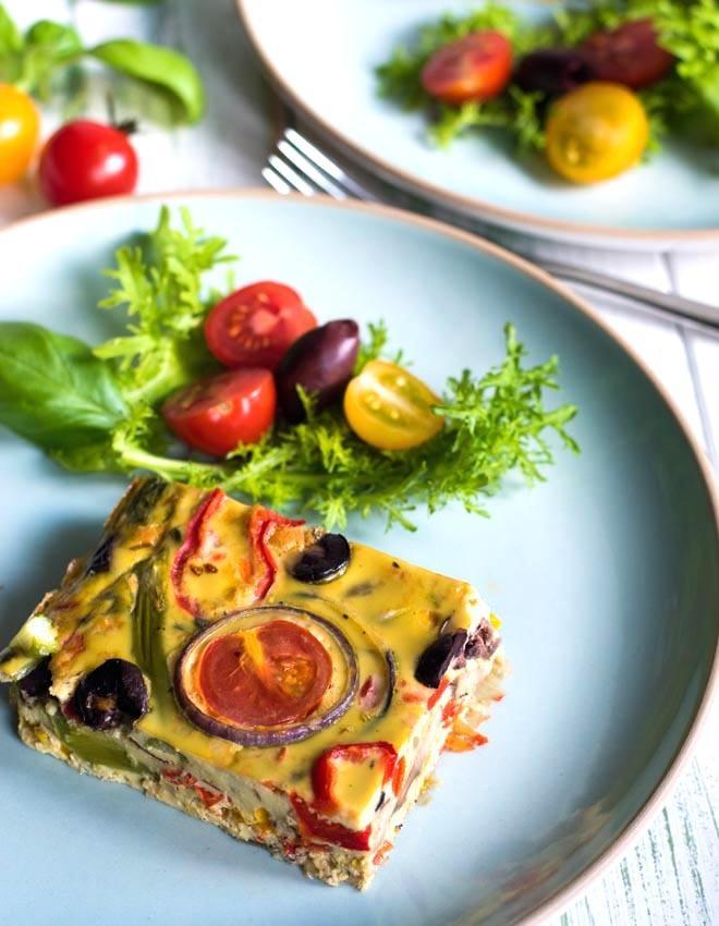 Rezept Italienische Frittata mit buntem Gemüse