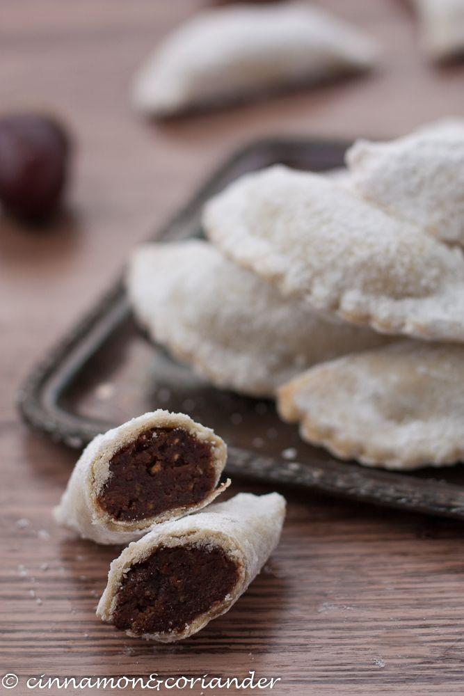 Rezept Italienische Plätzchen mit Maronenfüllung | Tortelli di Castagne