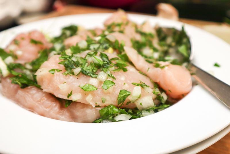 Rezept Italienische Sommer-Marinade mit frischen Kräutern