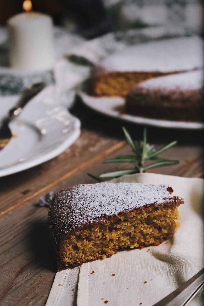 Rezept Italienischer Mandelkuchen – perfekt nicht nur zu Weihnachten.