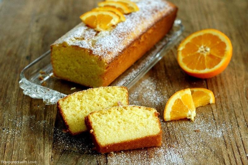 Rezept Italienischer Orangenkuchen