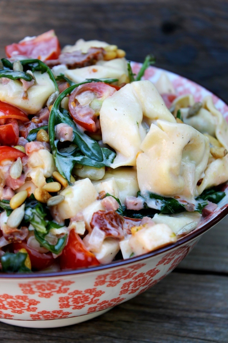 Rezept Italienischer Tortellinisalat