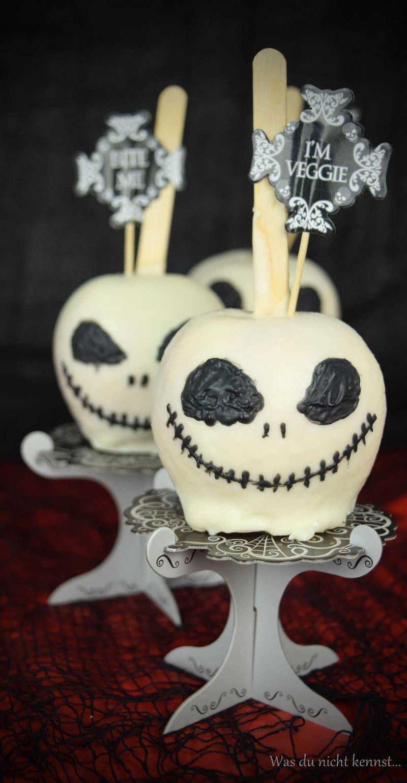 Rezept Jack Skeleton Äpfel