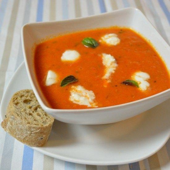 Rezept Jamie Olivers Caprese Suppe