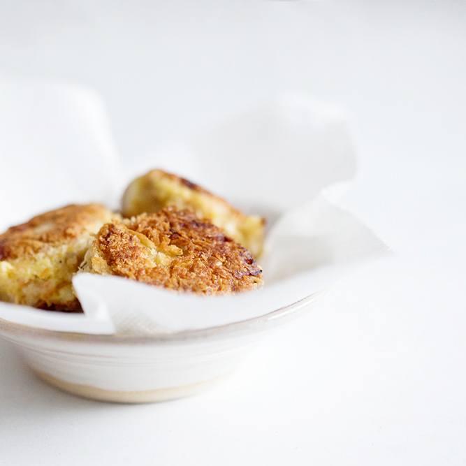 Rezept Japanische Kroketten mit Schweinefleisch und Yakitori-Sauce - Korokke