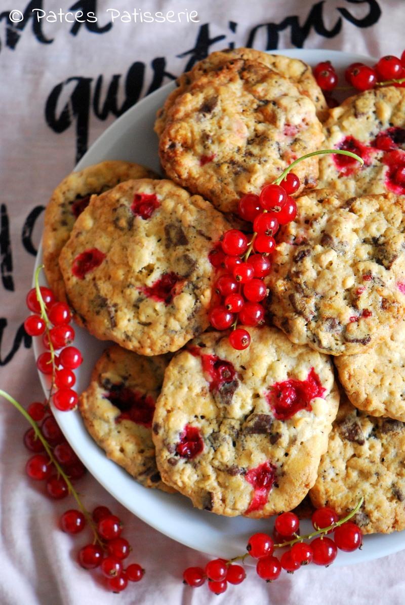 Rezept Johannisbeer-Streusel-Cookies