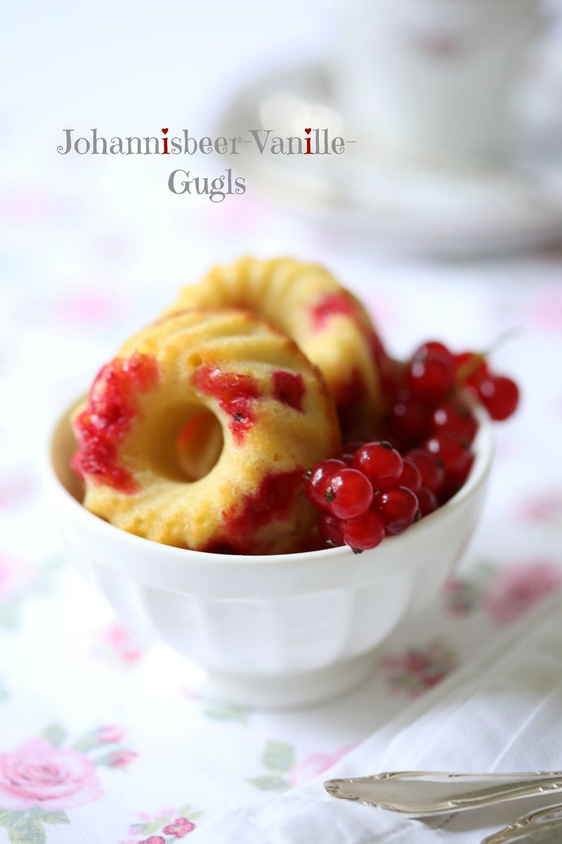 Rezept Johannisbeer-Vanille-Gugls
