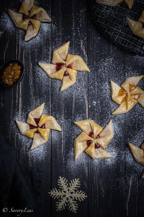 Rezept Joulutorttu – finnische Weihnachtskuchen