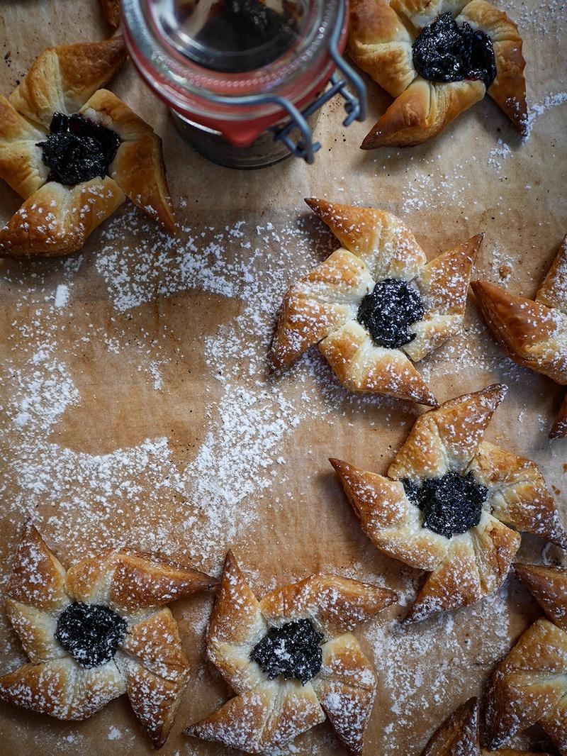 Rezept Joulutorttu – finnische Weihnachtssterne
