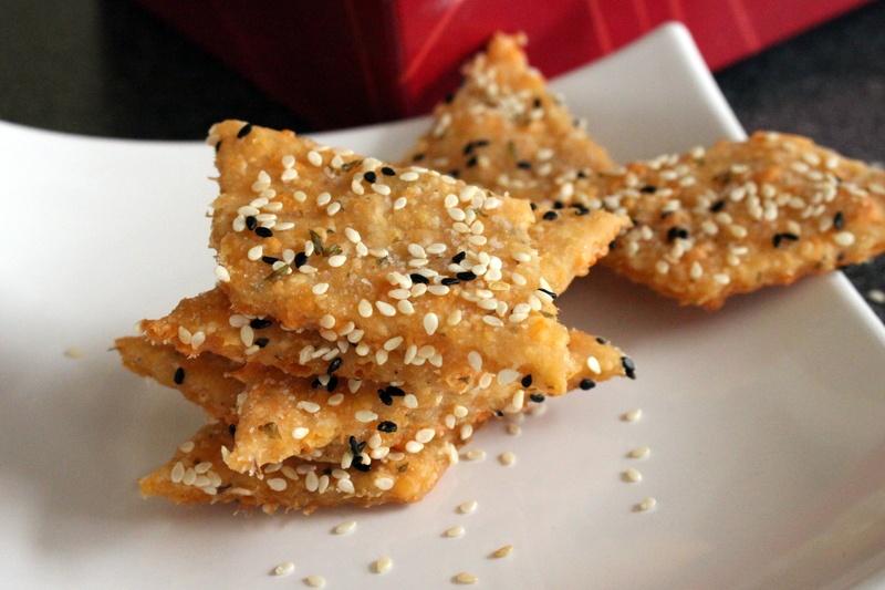 Rezept Kaese Crackers