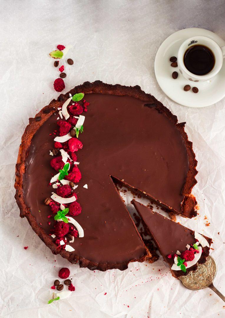 Rezept Kaffee-Schokoladen Tarte