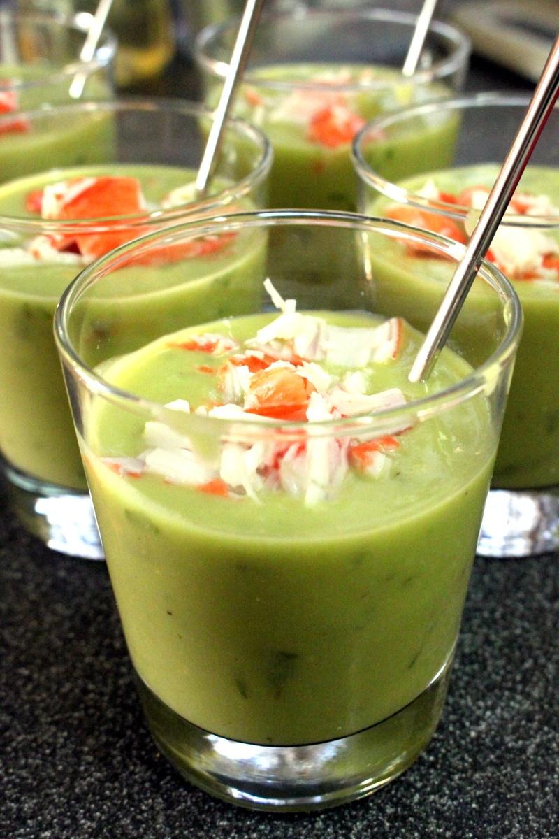 Rezept Kalte Avocado Suppe