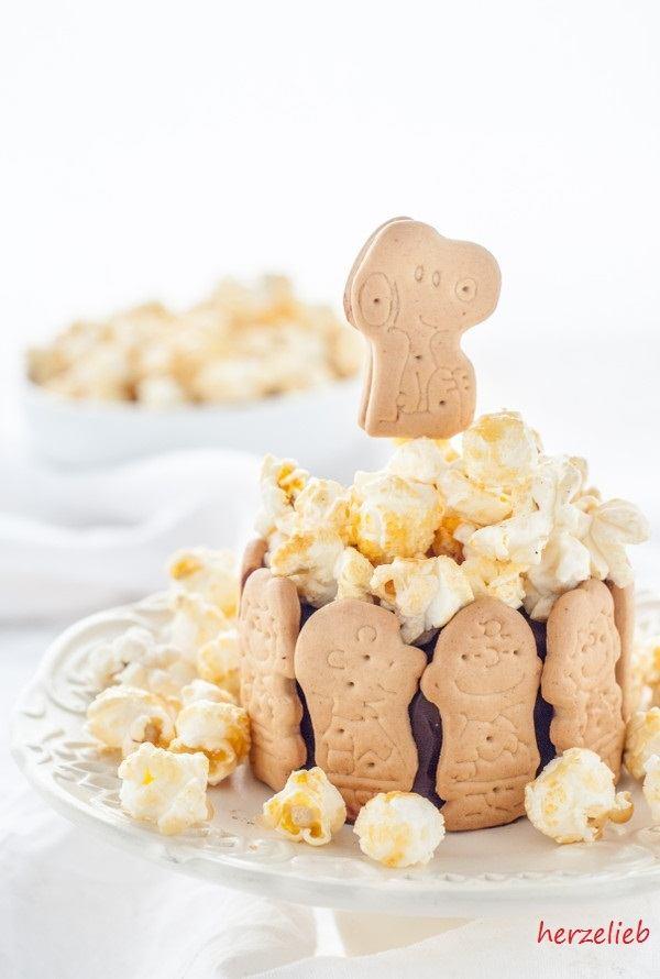 Rezept Kalter Hund Charlotte mit Popcorn