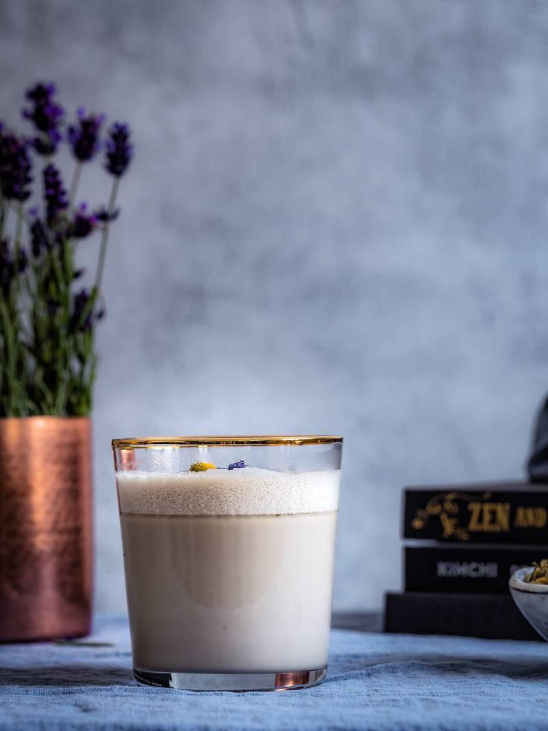 Rezept Kamillen Lavendel Milch