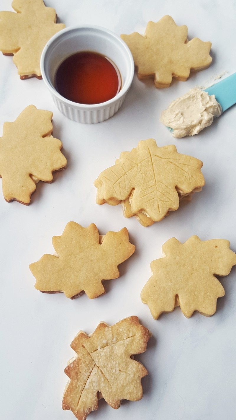Rezept Kanadische Maple Cream Cookies