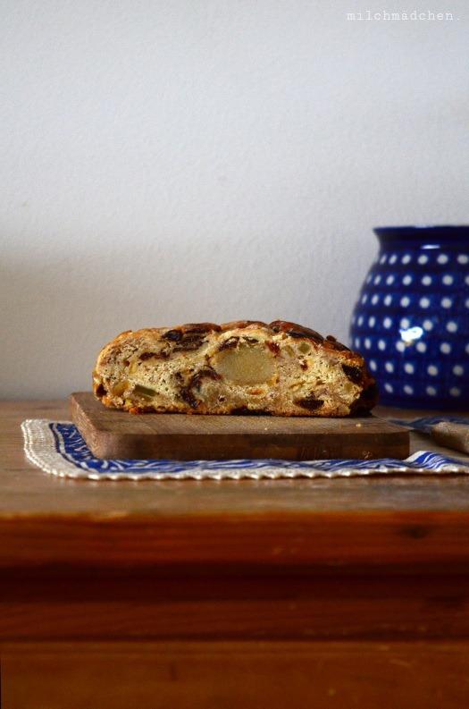 Rezept Kanzlerinnen-Premium-Butterstollen und Dinkelstollen mit Marzipan