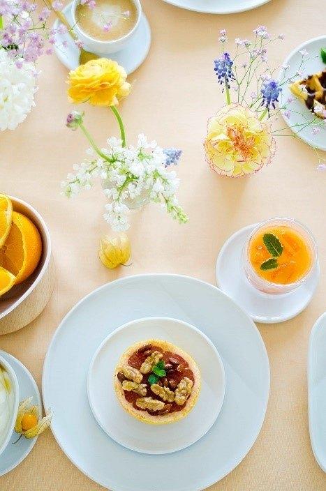 Rezept Karamellisierte Grapefruit und geeister Möhren-Apfel-Orangen-Saft