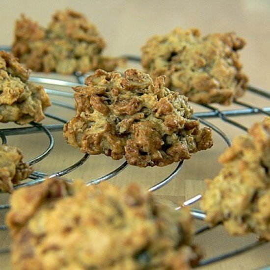 Rezept Karamellisierte Haferflocken-Knusperchen