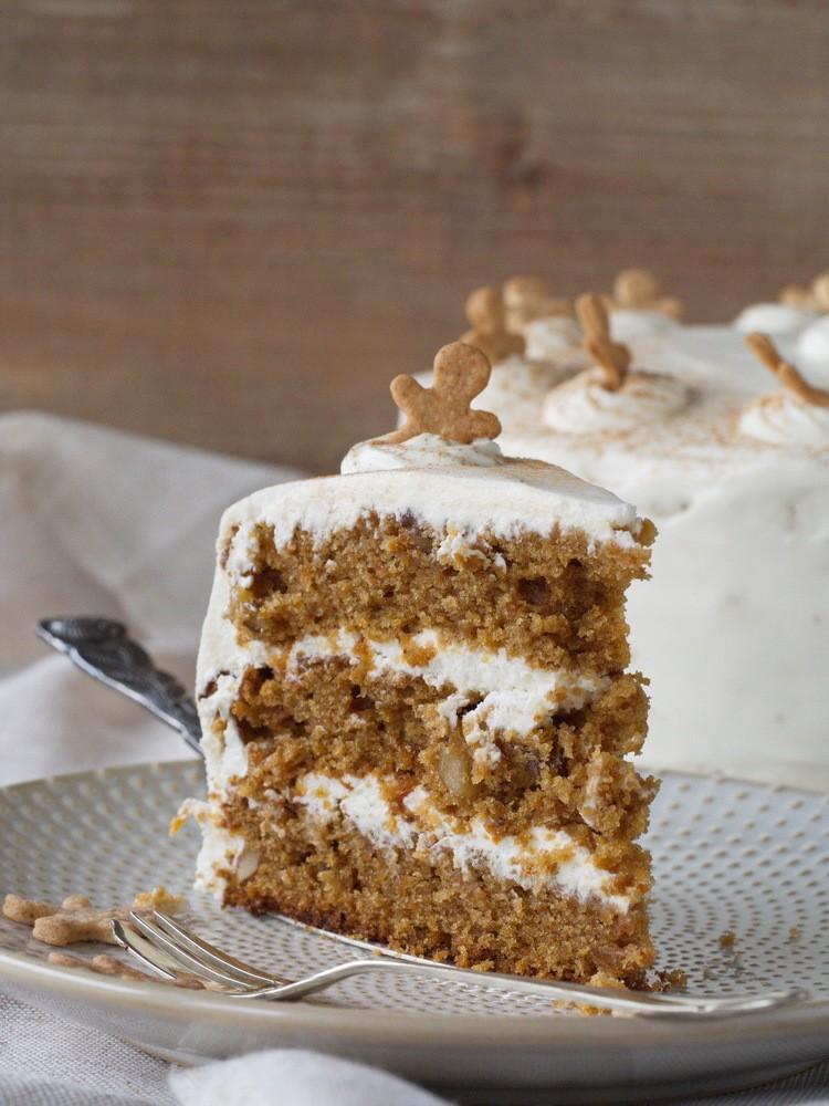 Rezept Karotten-Frischkäse-Torte