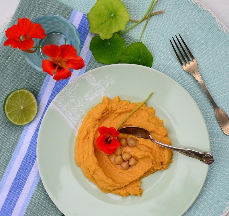 Rezept Karotten Hummus