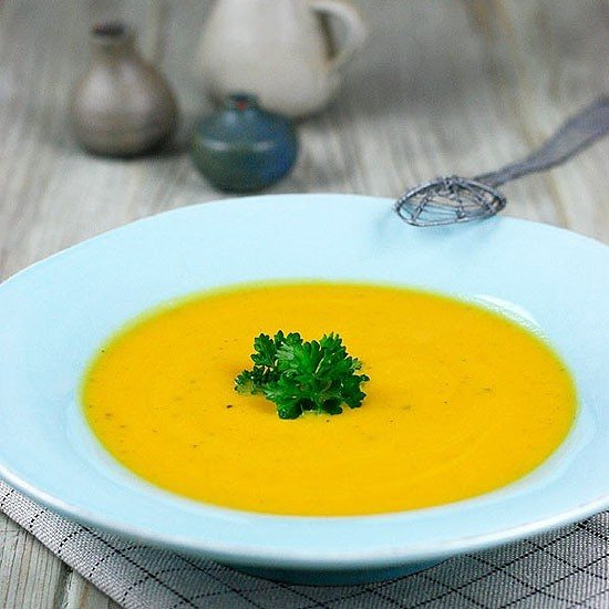 Rezept Karotten-Ingwer-Suppe