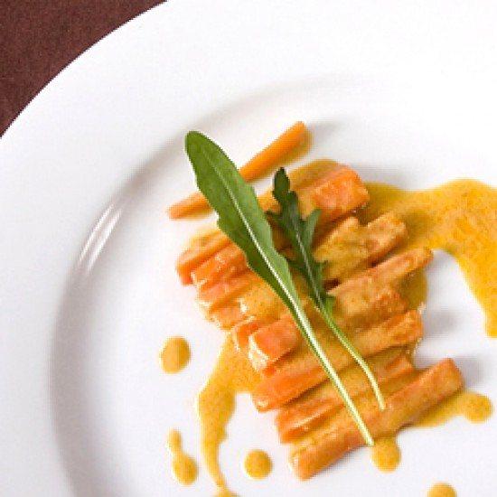 Rezept Karotten mit Erdnuss-Sauce