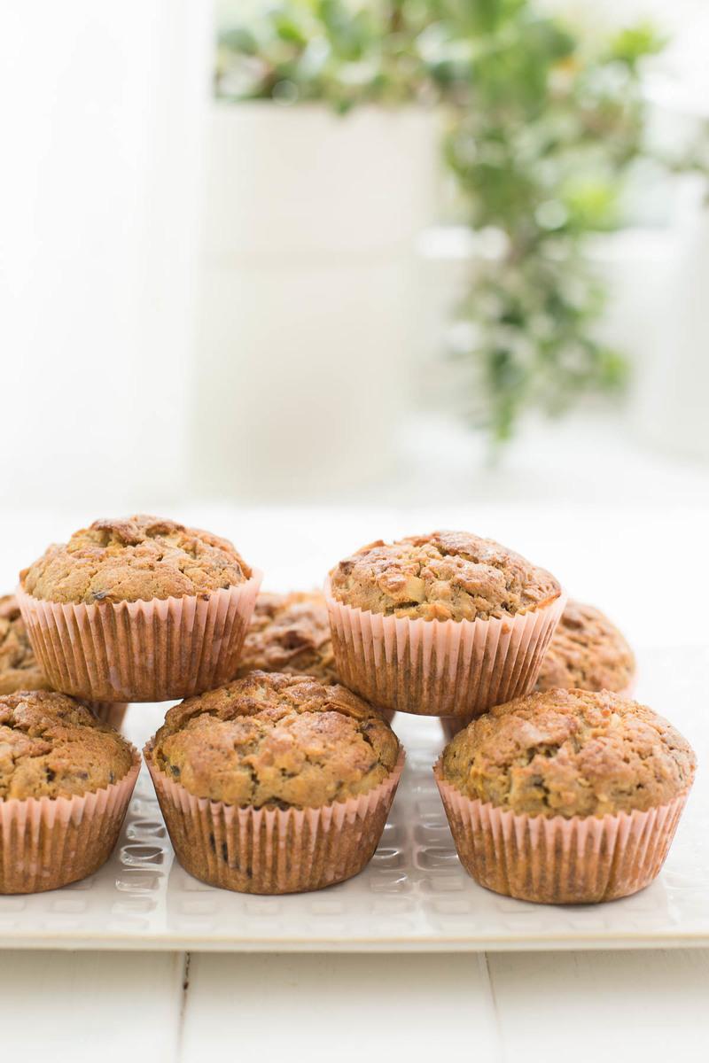 Rezept Karotten-Muffins mit Ingwer und Kokos