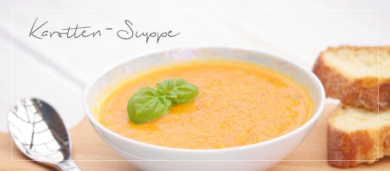 Rezept Karotten-Orangen-Suppe mit Ingwer-Kick – perfekt für kalte Winterabende