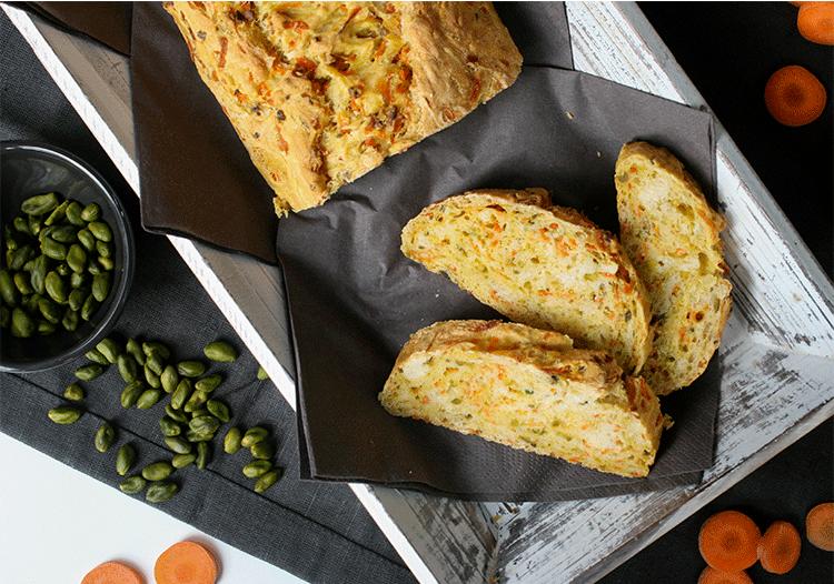Rezept Karotten Pistazien Brot