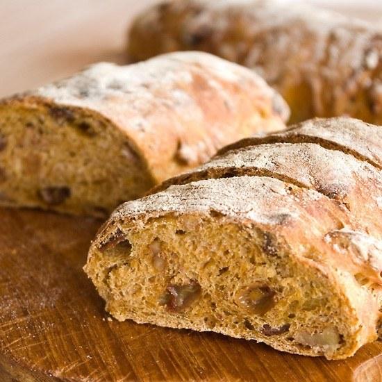 Rezept Karotten-Rosinen-Walnuss-Brot