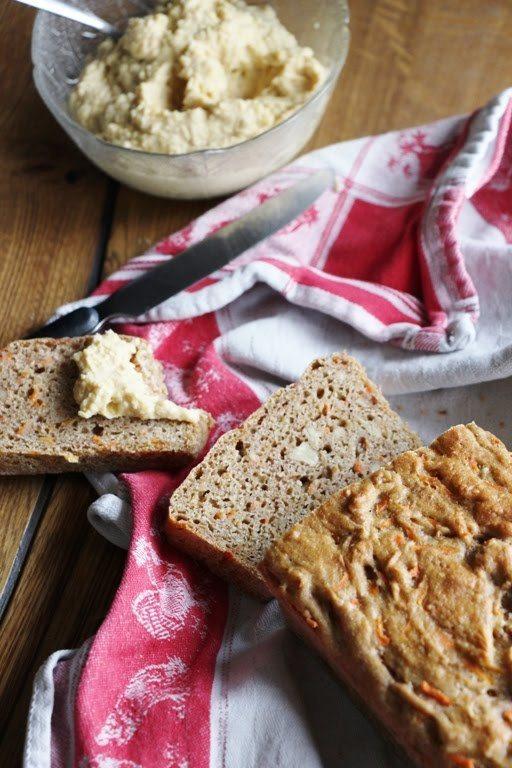 Rezept Karotten - Walnuss - Brot