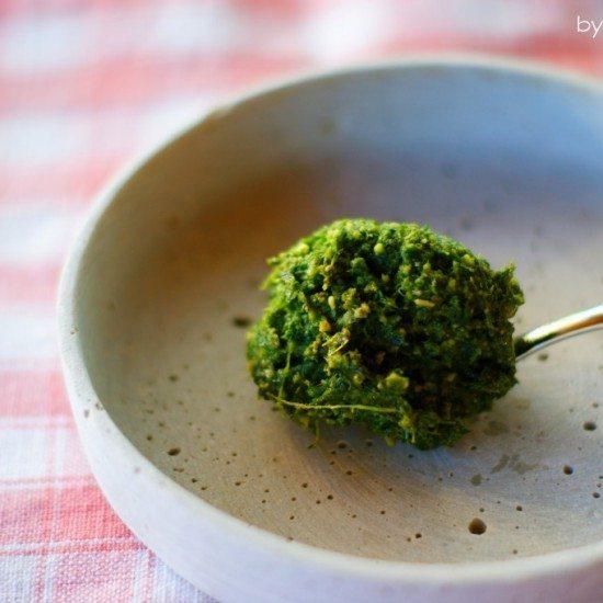 Rezept Karottengrün-Pesto