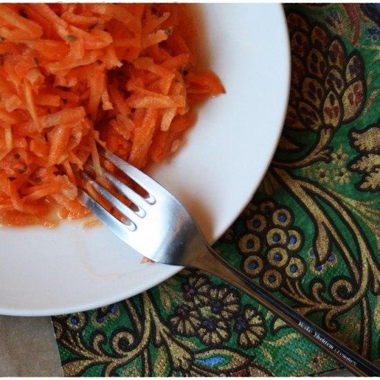 Rezept Karottensalat mit Anis und Zitrone
