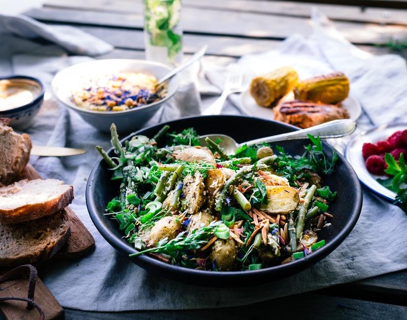 Rezept Kartoffel-Bohnen Salat - die beste Grill-Beilage überhaupt