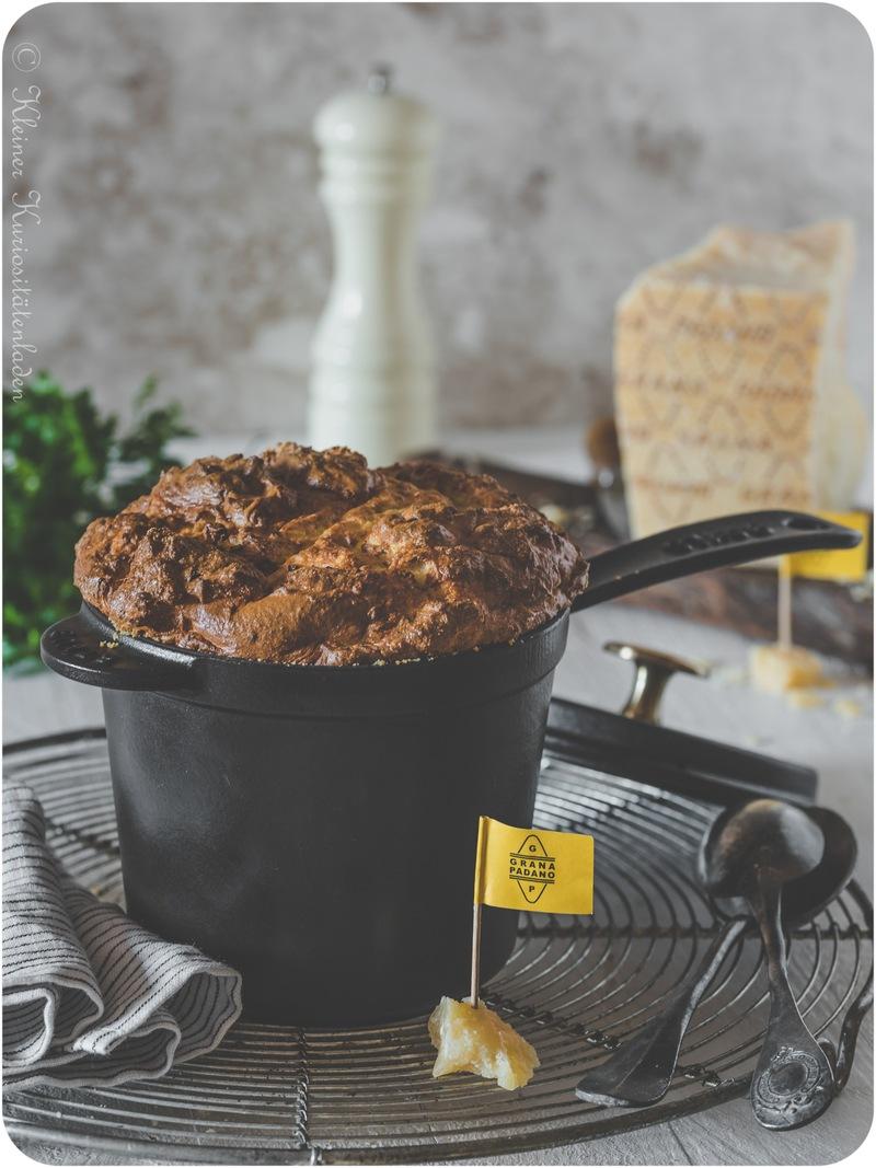 Rezept Kartoffel-Käse-Soufflé mit Kräutern