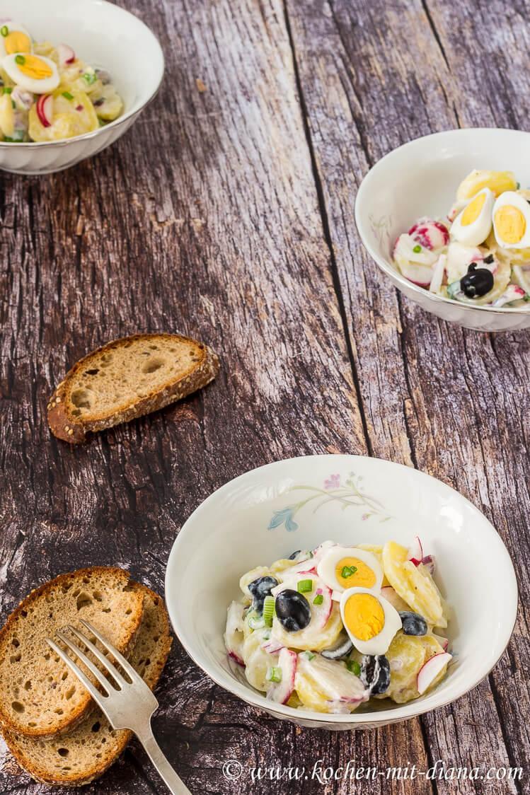 Rezept Kartoffel-Radieschen-Salat